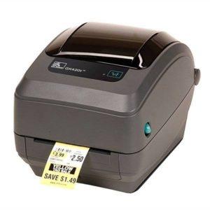 Термопринтер печати этикеток Zebra GK420d