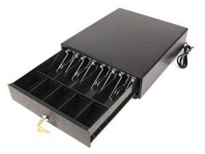 Денежный ящик черный