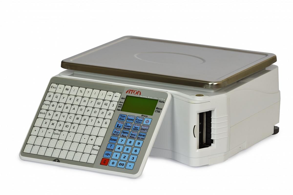 Весы с печатью этикеток