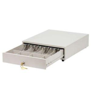 Денежный ящик белый