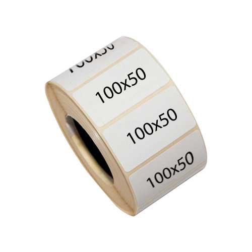 Термотрансферные этикетки 100х50 мм