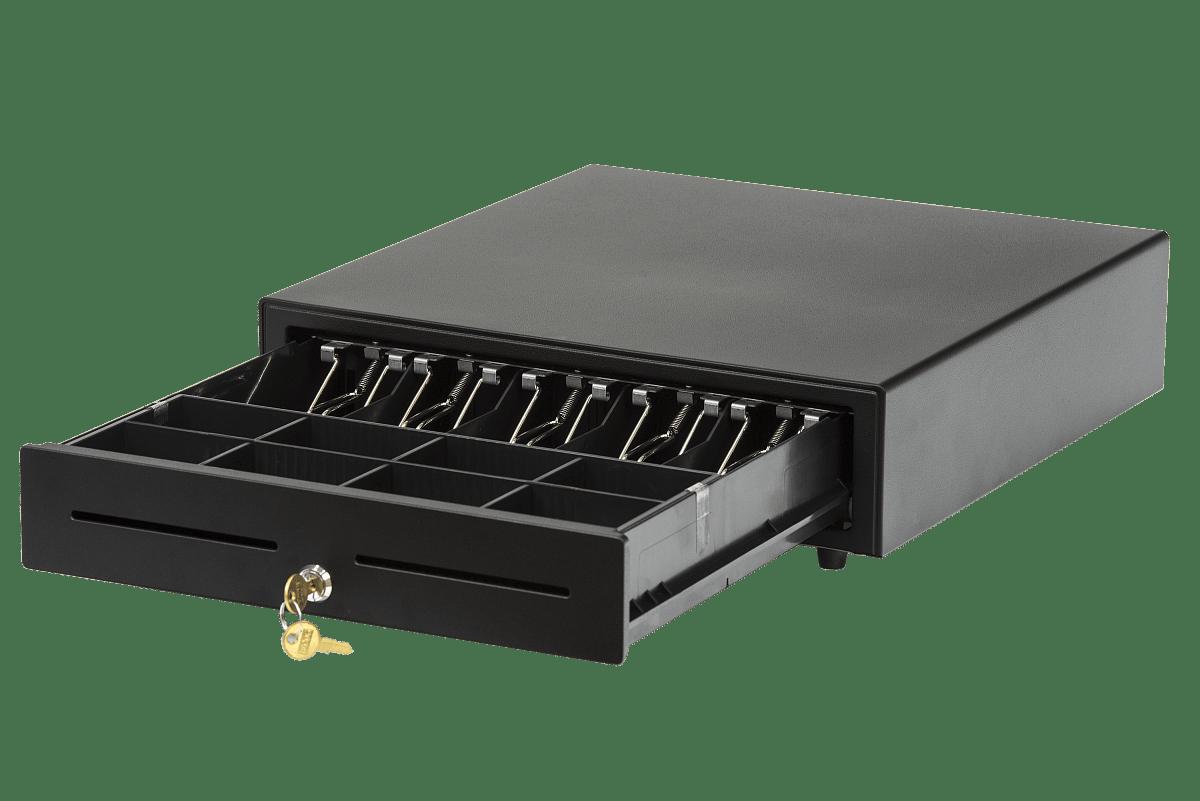 Денежный ящик, черный